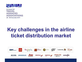Key challenges in the airline ticket distribution market